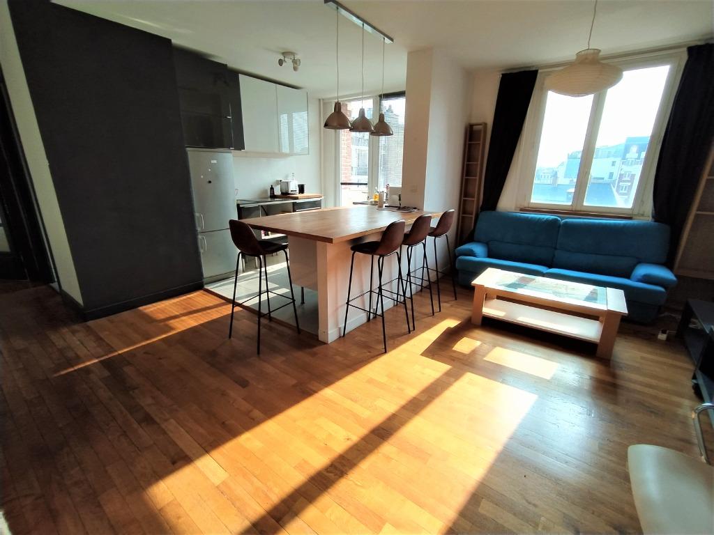 LILLE GARES - Type 3 meublé avec balcon sud