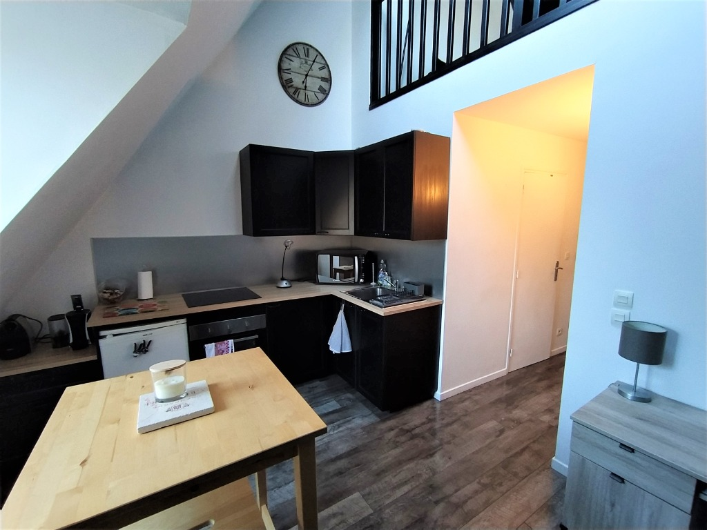 Location appartement - Vieux Lille - T2 bis meublé - Possibilité de parking