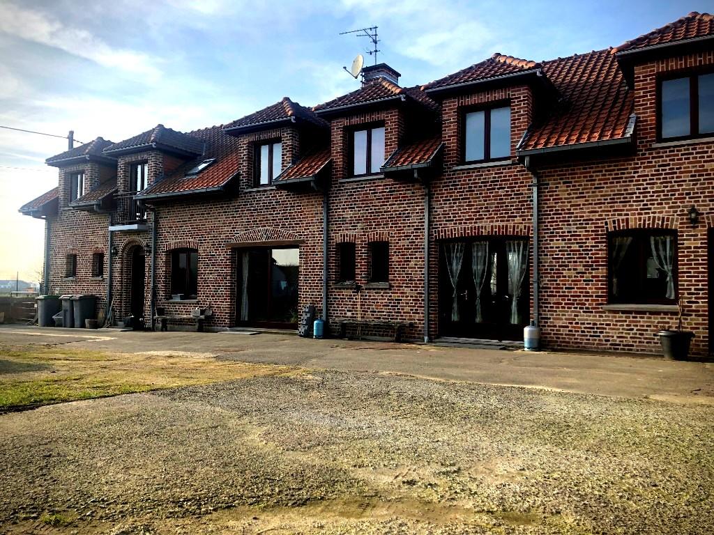 Vente maison 59930 La chapelle d armentieres - Superbe Ferme 7 chambres campagne de Prémesques