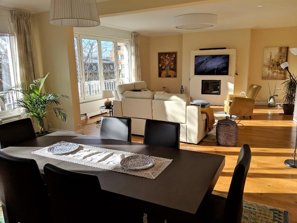 Vente appartement - Lille centre, appartement d'exception 4 chambres, balcon.