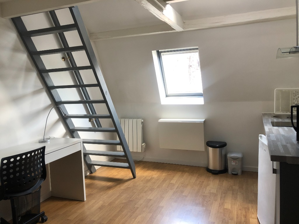 Location appartement - Superbe T1 bis meublé Vieux Lille
