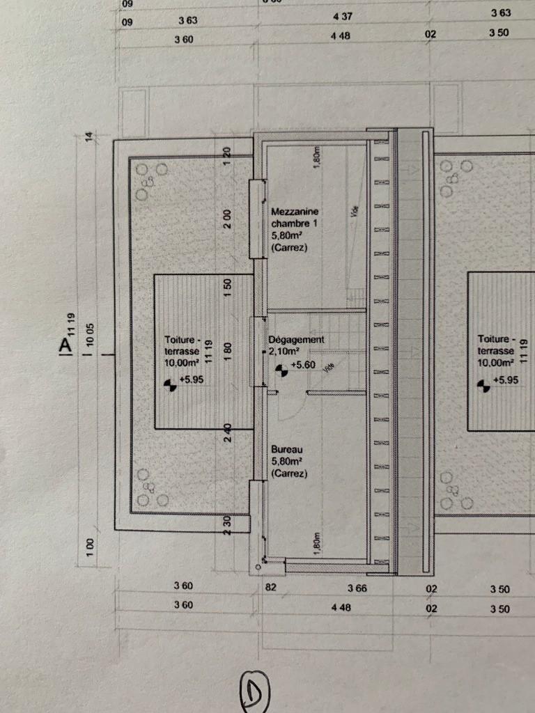 VILLENEUVE ASCQ cousinerie, maison neuve 4 chambres