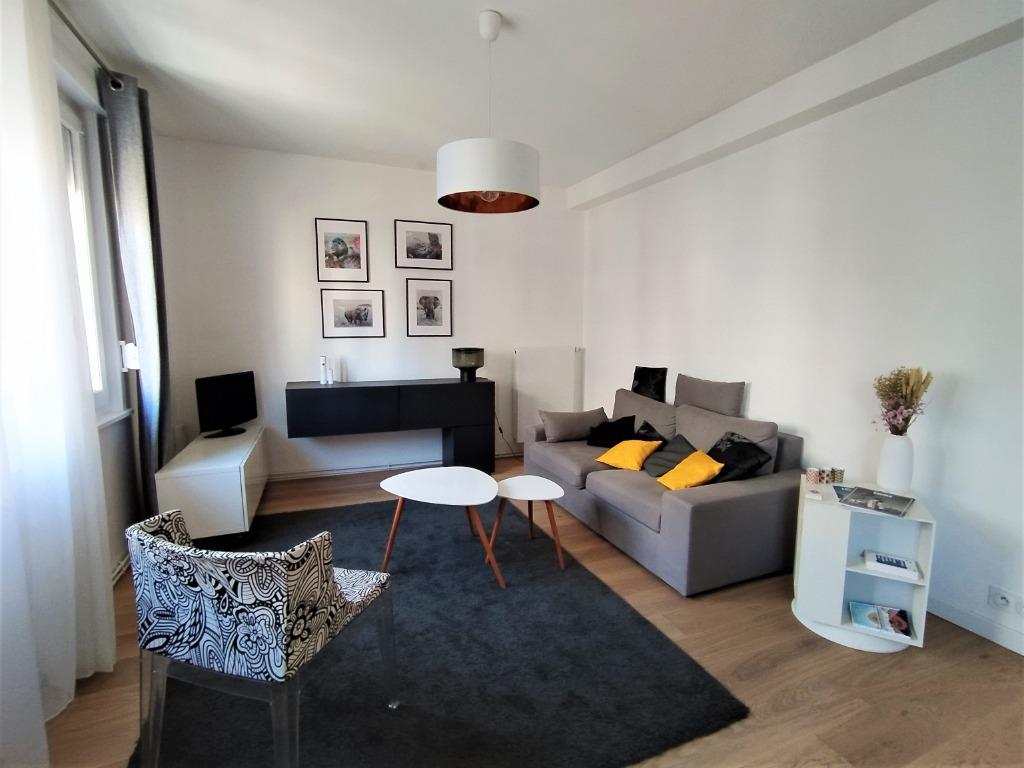 Location appartement - T3 meublé de 64 m2 secteur Nationale-Vauban idéal colocation