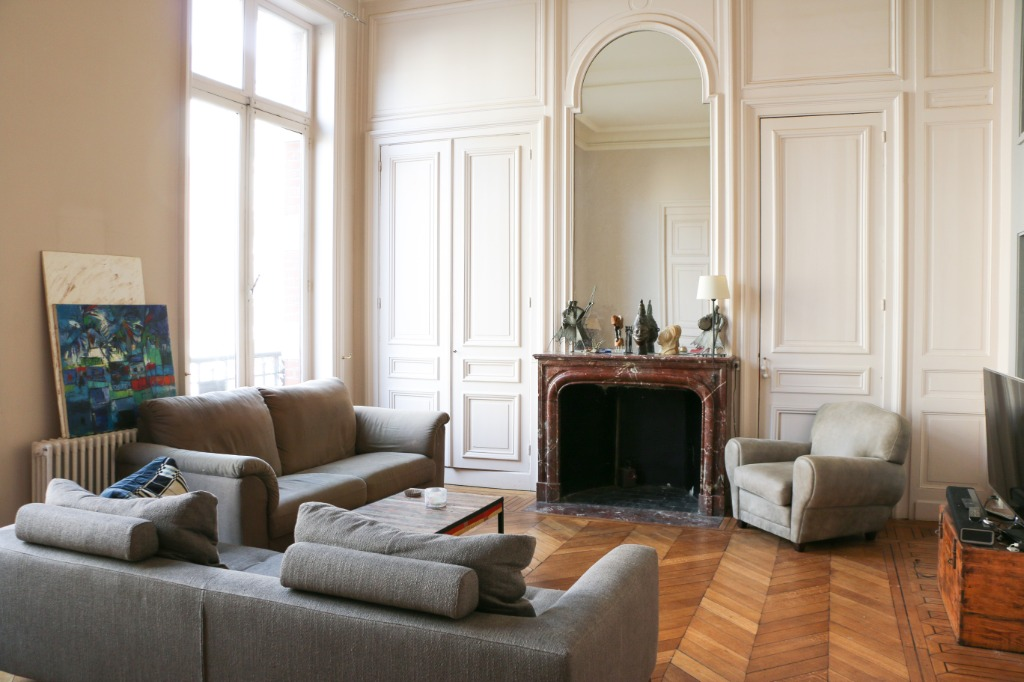 Vente appartement - Appartement haussmannien au cœur de Lille, 2 chambres.