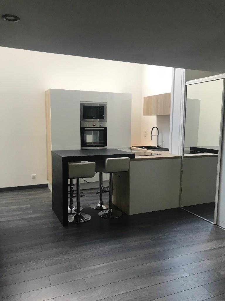 Location appartement 59000 Lille - T1 bis de 34.54m² avec cour - Vieux Lille
