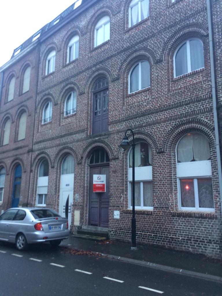 Vente appartement 59134 Fournes en weppes - Appartement T4 vendu loué