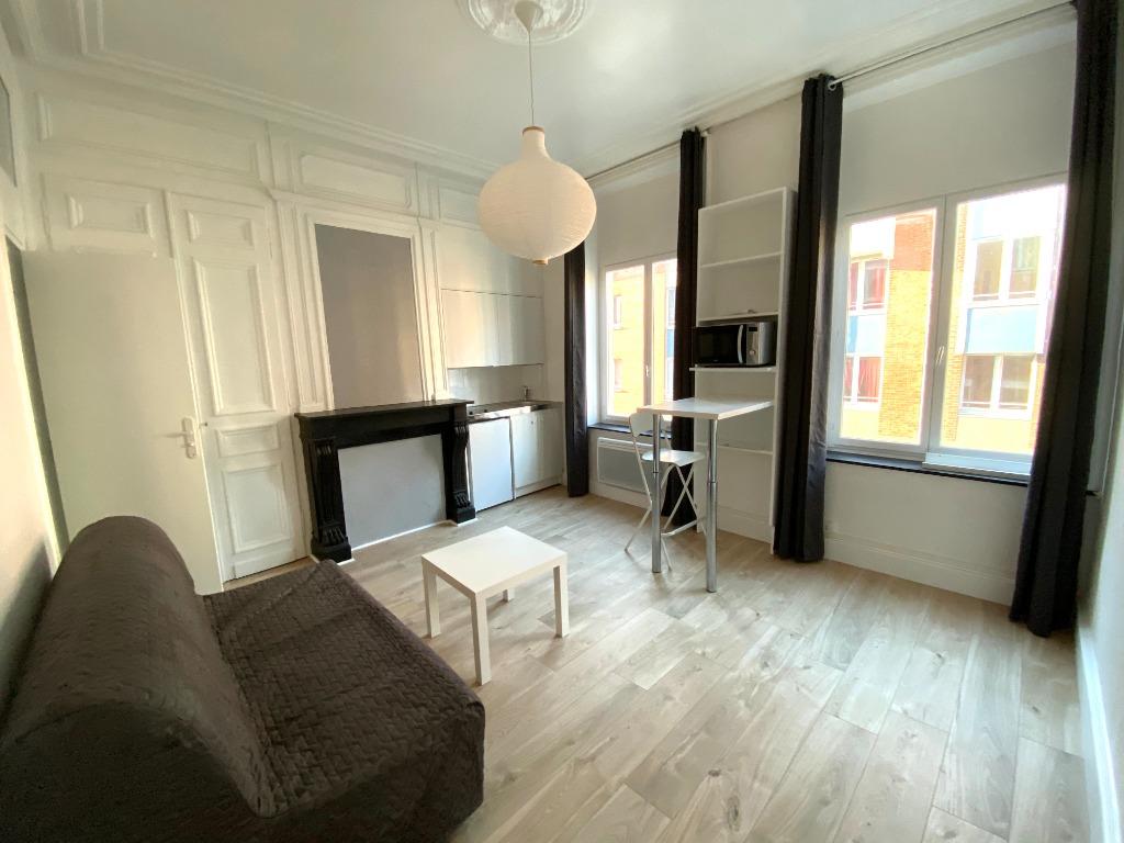 Location appartement 59000 Lille - Studio Meublé 18,29m² - Secteur Cormontaigne