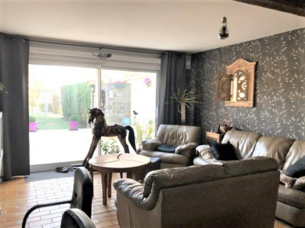 Vente maison 59211 Santes - Santes, 3 Chambres, jardin et garage. 105m².