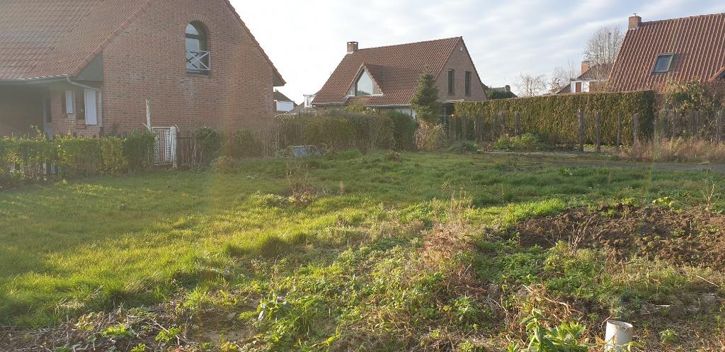 Vente terrain 59320 Sequedin - SEQUEDIN : Terrain CONSTRUCTIBLE de 394 m²..RARE!!
