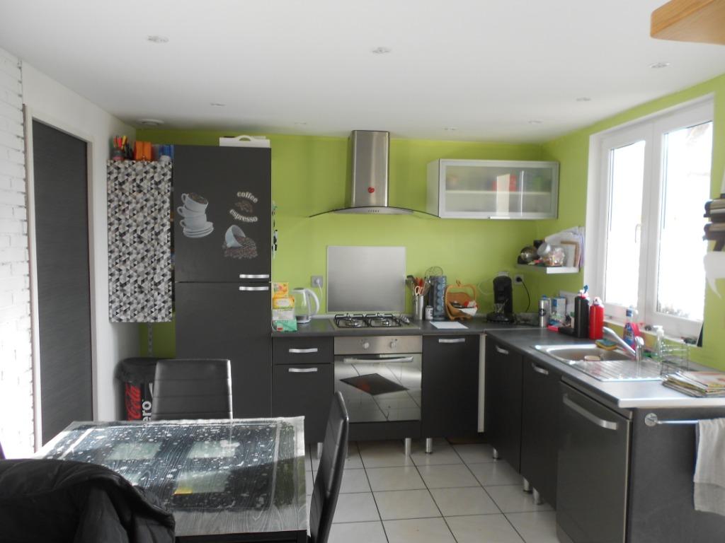 Houplin Ancoisne, rénovée, jardin, deux chambres.