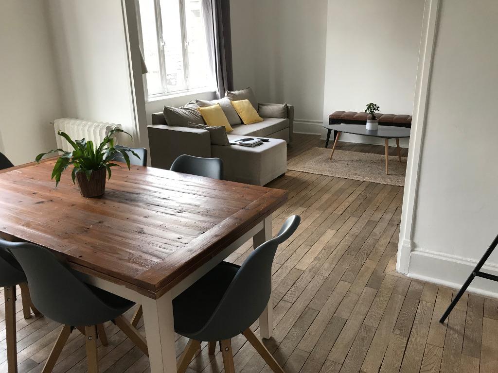 Location appartement 59110 La madeleine - Appartement meublé  108m² - Rue de Paris à La Madeleine