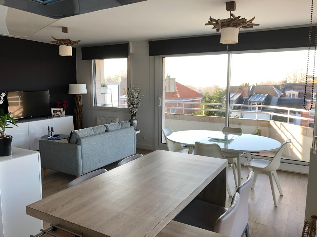 Vente appartement 59170 Croix - Type 3 avec terrasse plein sud et garage !