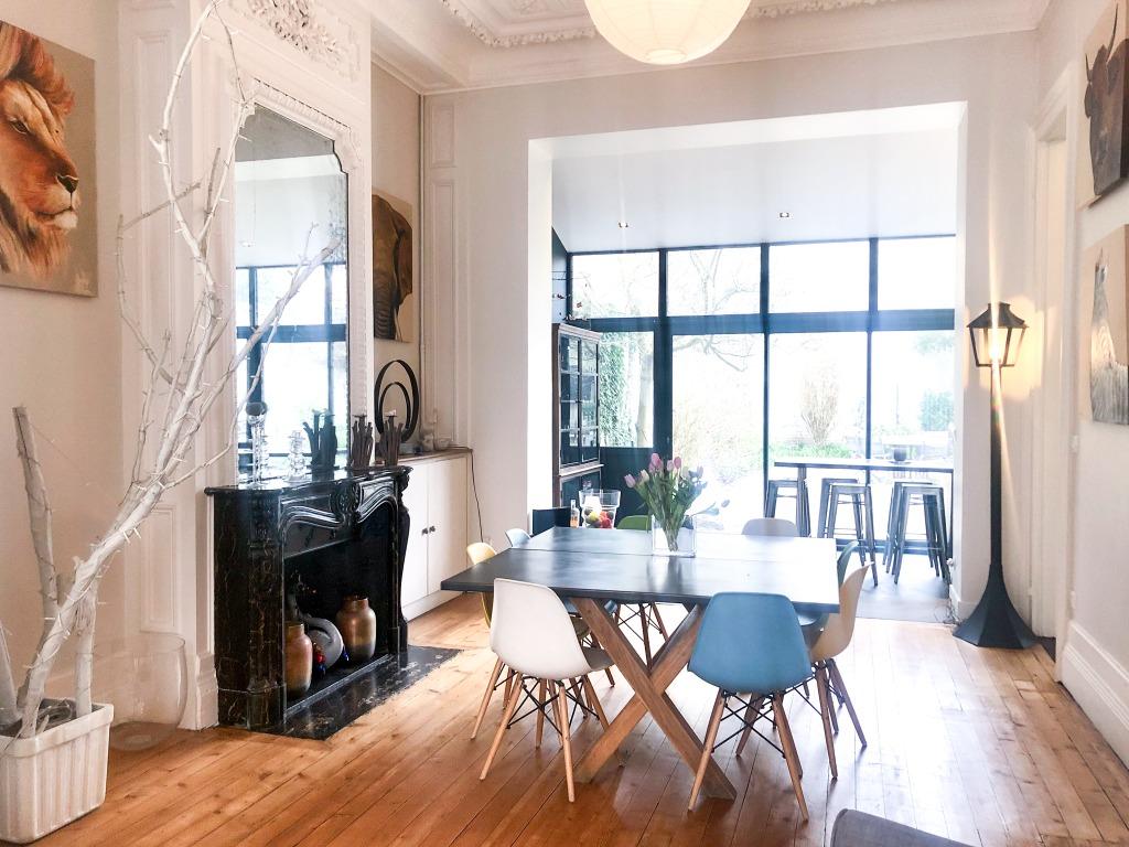 Vente maison - Splendide maison bourgeoise entièrement rénovée