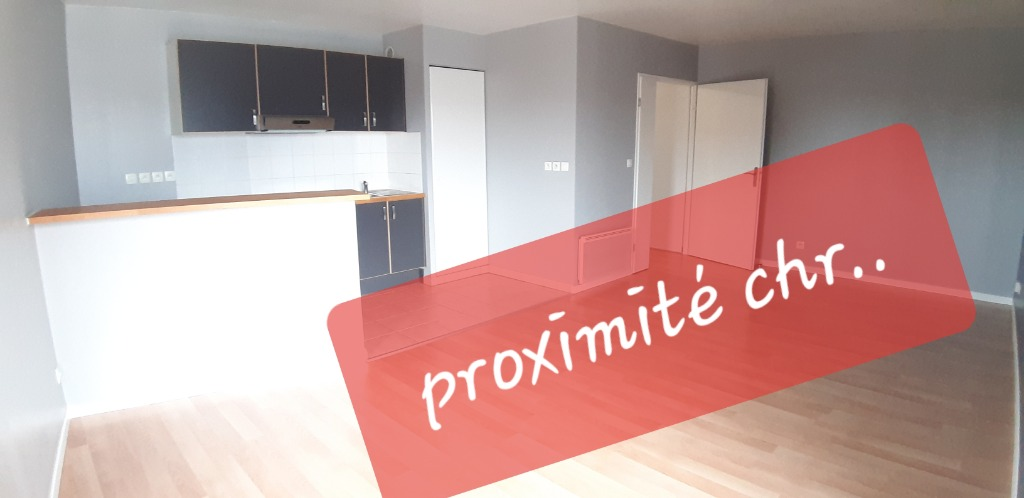 Vente appartement 59120 Loos - LOOS PROX CHR, residence recente gd T2 balcon AVEC GARAGE