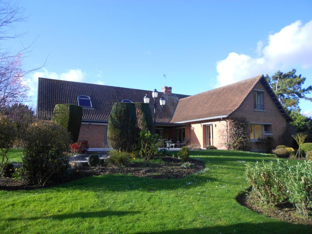 Vente maison 59134 Herlies - Magnifique propriété semi plain pied  sur 10 000 m2