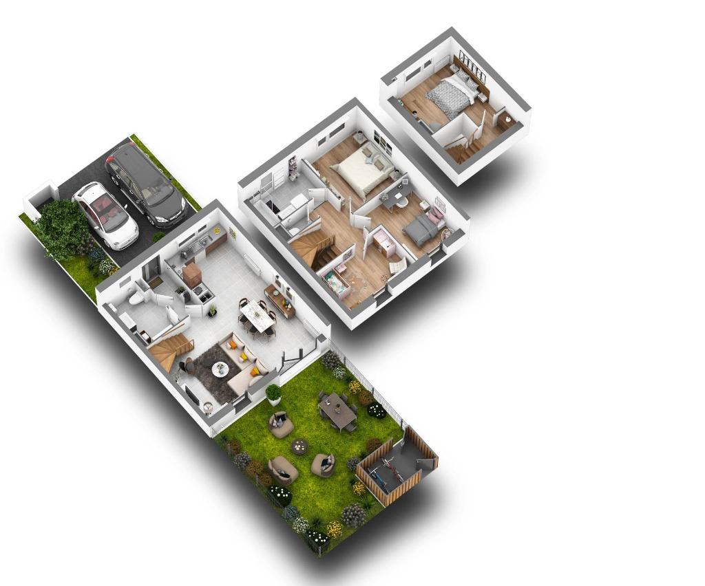 Maisons neuves T4/5 - Bois D'Achelle