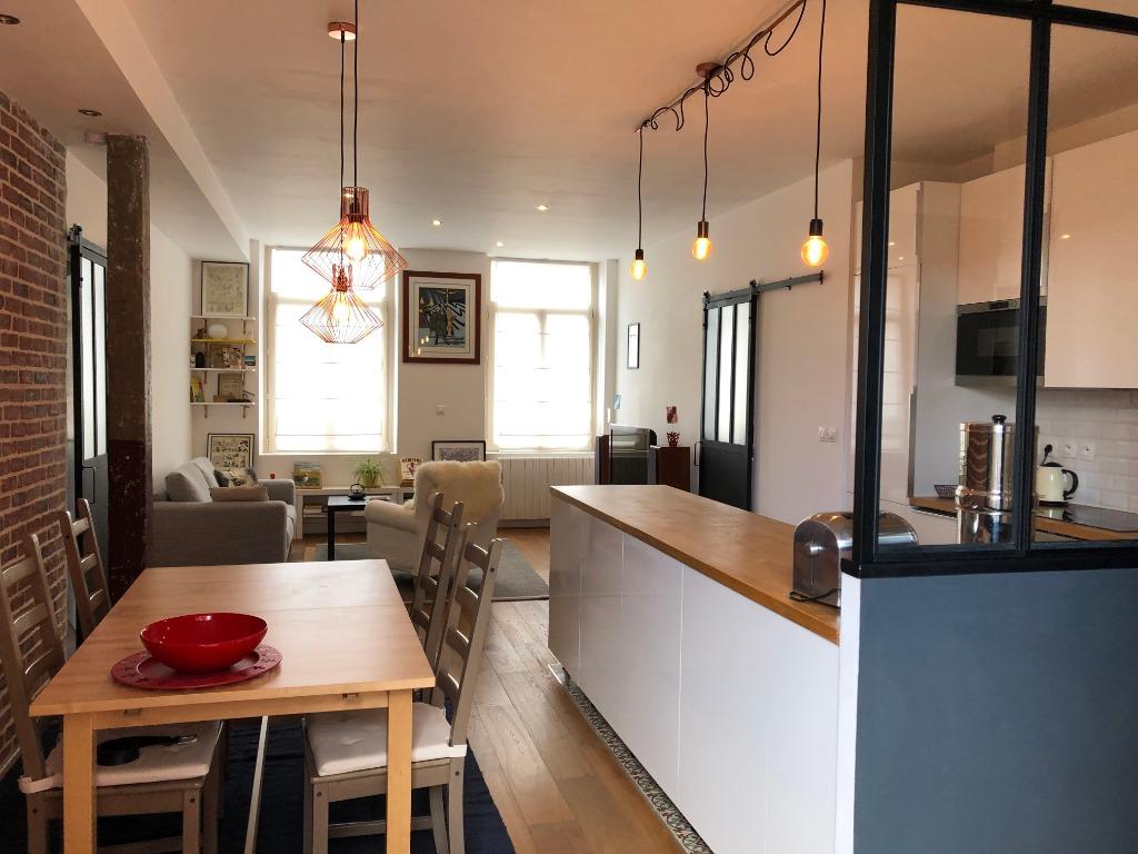 Vente appartement 59000 Lille - Coup de cœur type 4 avec terrasse et parking Lille