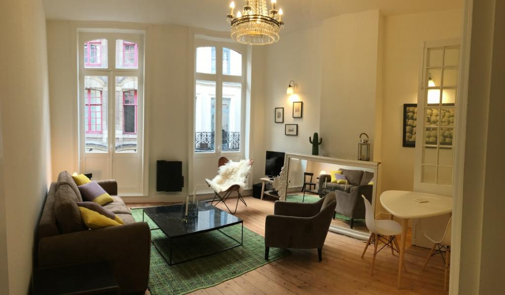 Location appartement - Superbe appartement T2 meublé dans le Vieux Lille