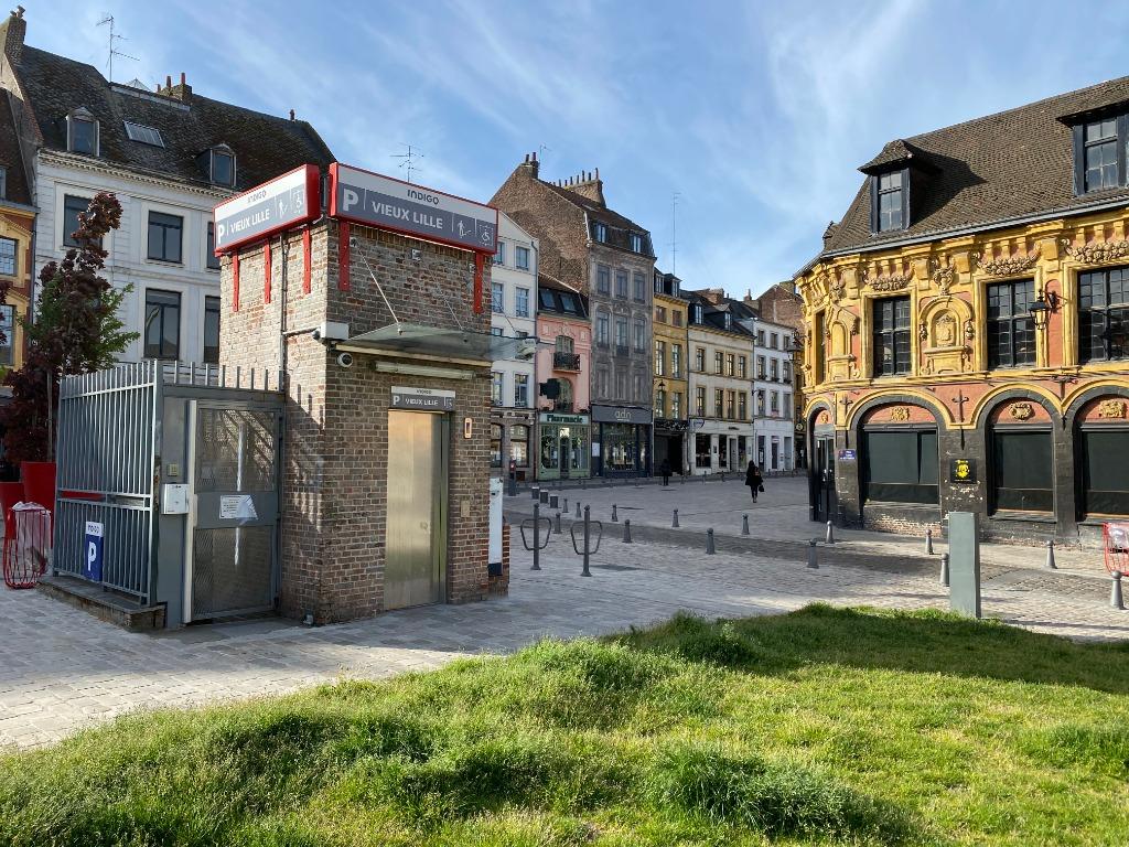 Vente parking - Parking coeur du Vieux Lille