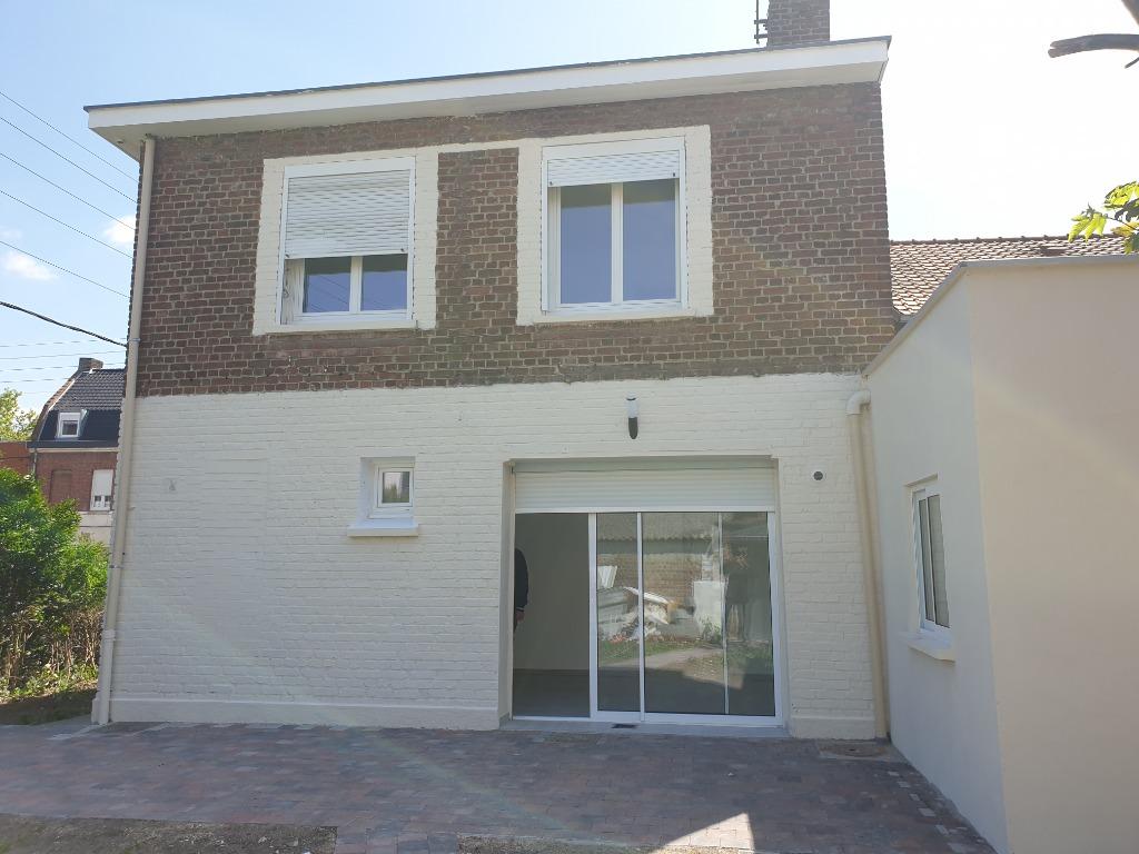 Vente maison 59320 Hallennes lez haubourdin - HALLENNES LEZ HAUBOURDIN 59320 MAISON BATIR - 4 CH - JARDIN