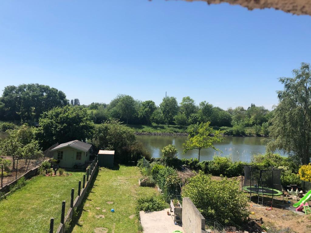 Vente maison 59890 Quesnoy sur deule - Maison flamande semie-mitoyenne vue sur Deule !