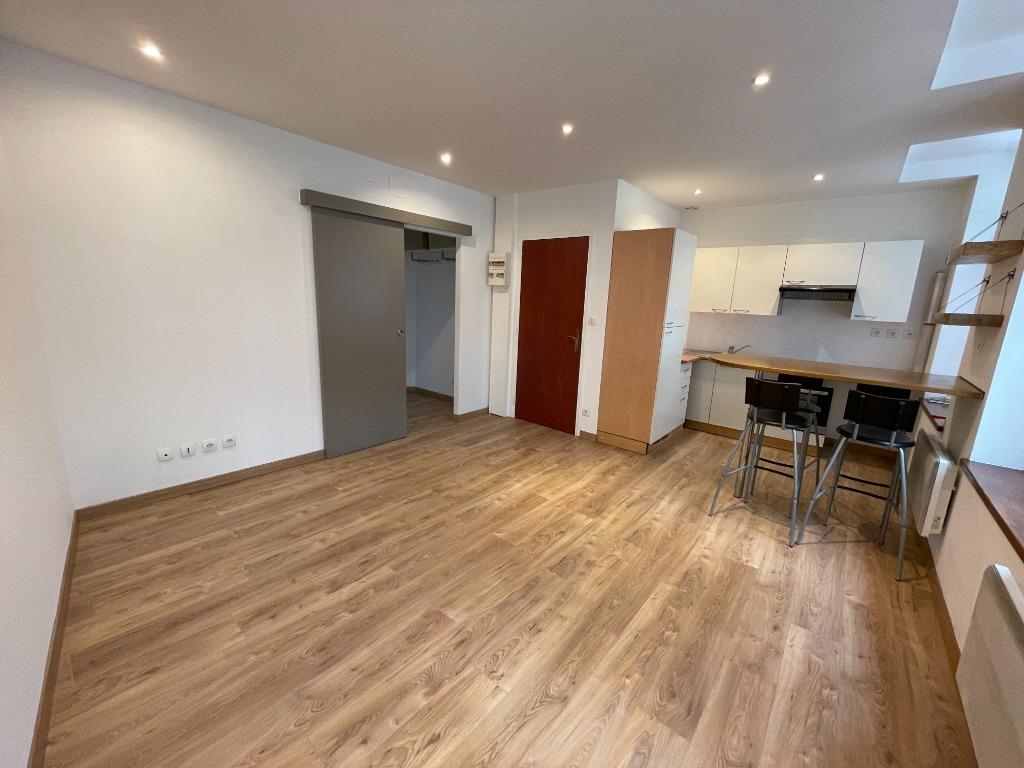 Lille - T1 bis non meublé de 34,80m² - Terrasse