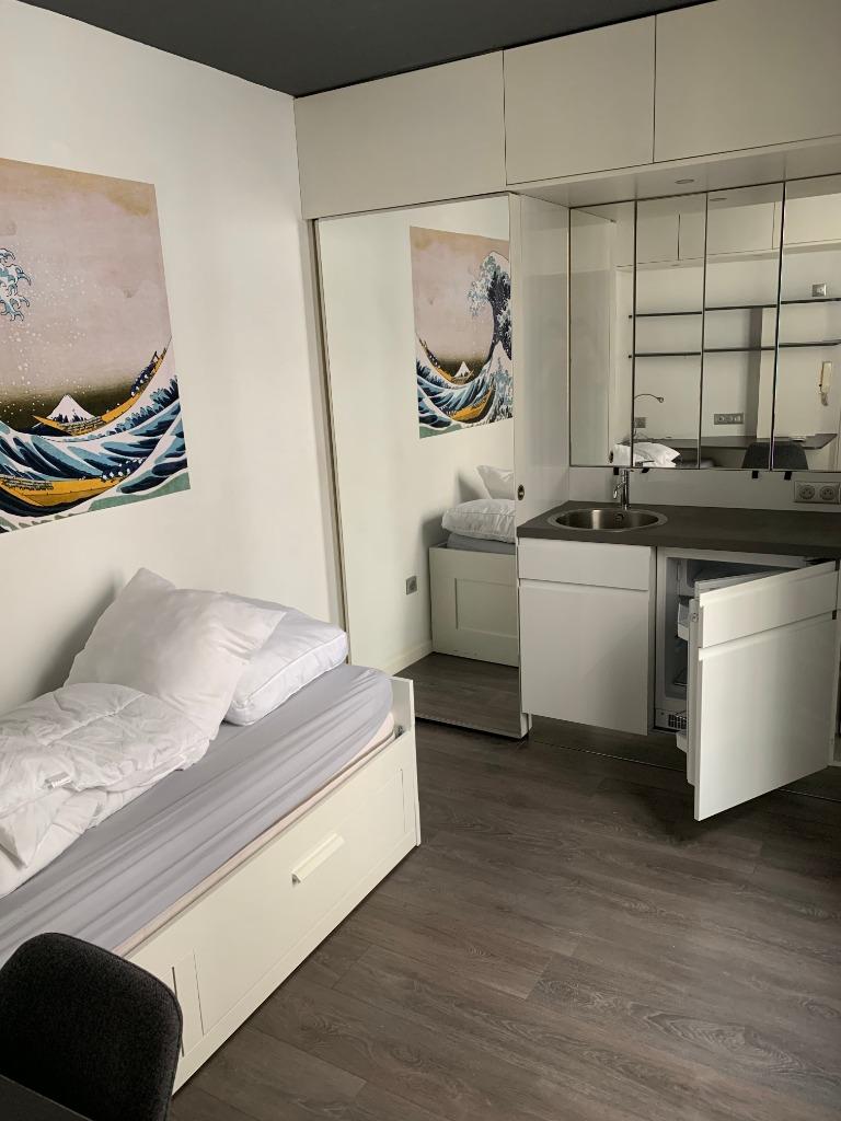 Location appartement 59000 Lille - Lille Centre - Chambre meublée- 10m²