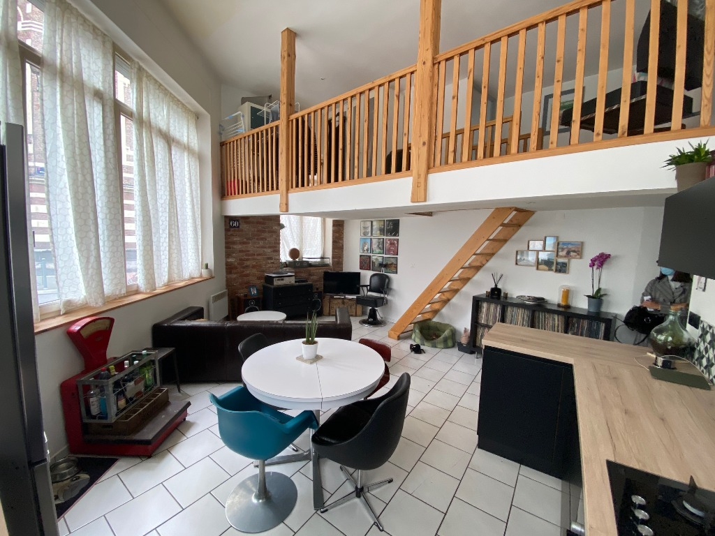 Vente appartement 59000 Lille - Lille porte de Paris appartement 65 m2 Type 3