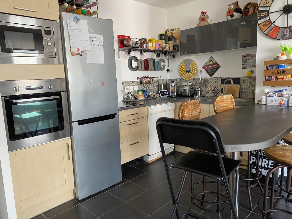 Vente appartement 59160 Capinghem - type 4 - 76 m² faible charge de copro