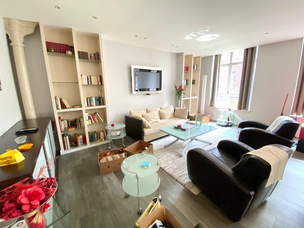 Vente appartement 59000 Lille - T3 - 97m2 traversant dans une résidence sécurisée