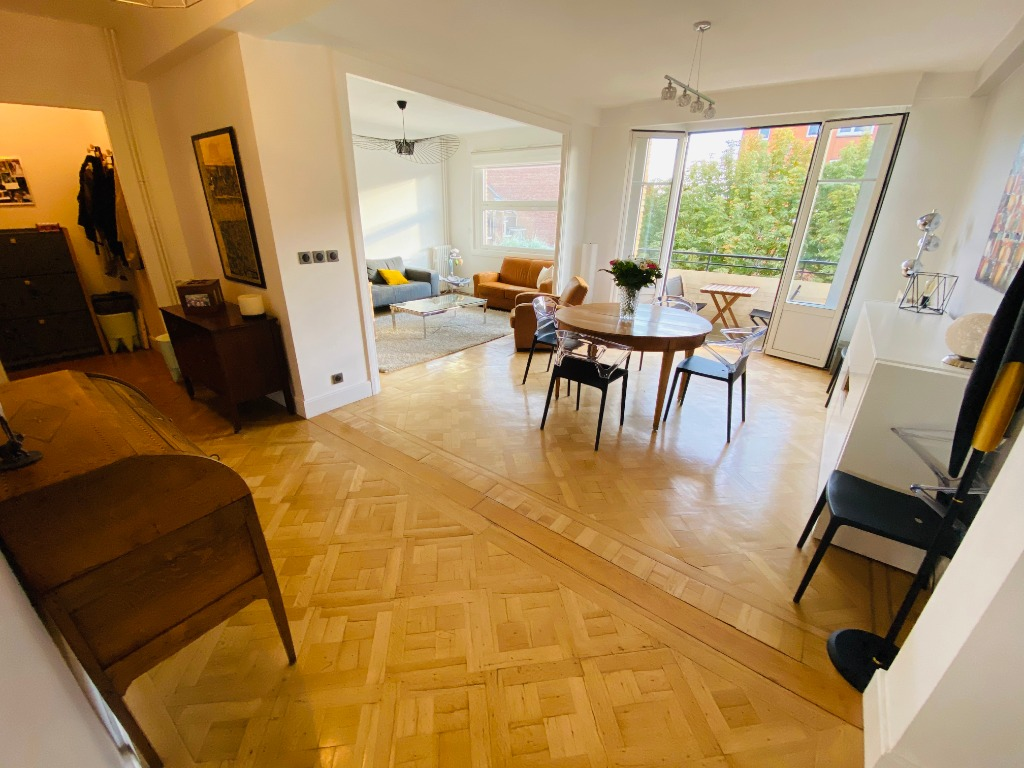 Vente appartement 59000 Lille - EXCLUSIVITE - VAUBAN ! Appartement de charme avec balcons