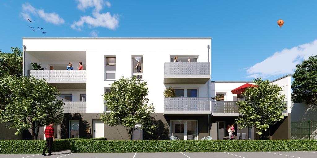 Vente appartement - Nouveau Roubaix T4