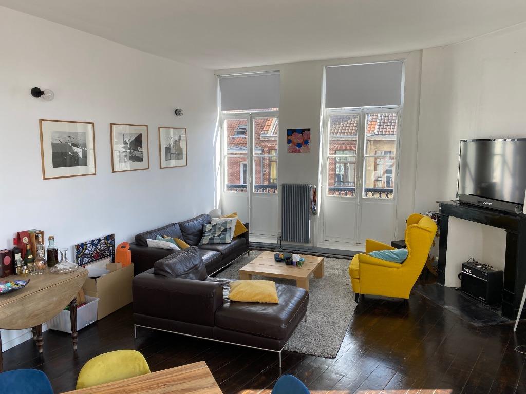 Vente appartement - Lille République, Appartement 91m² 3 chambres