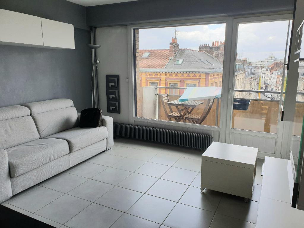Vente appartement 59000 Lille - Studio 24m² avec balcon