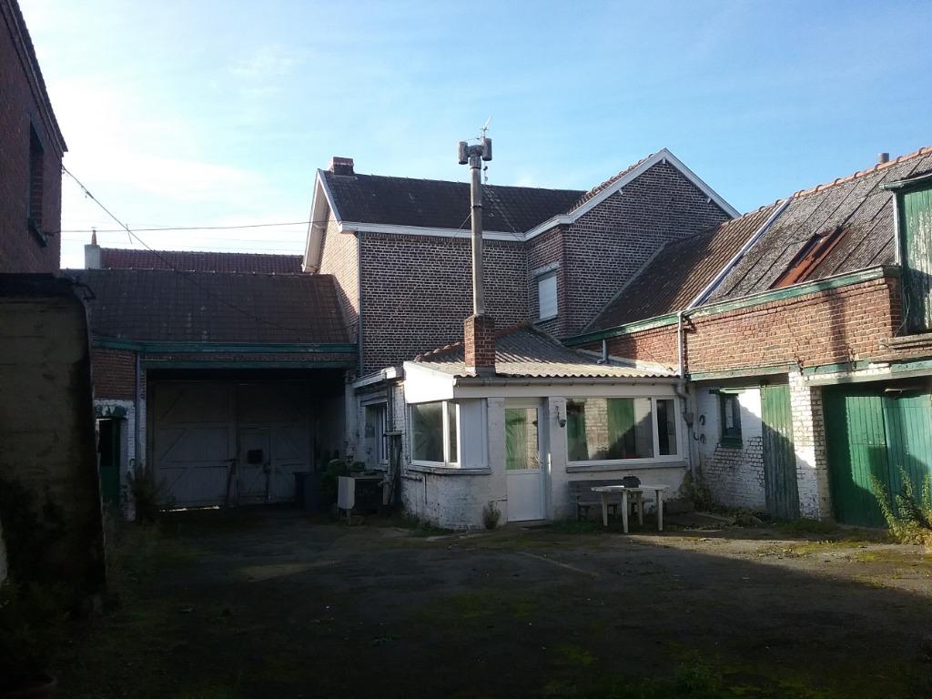 Vente maison 59480 Illies - Corps de Ferme / Hangar / Terrain constructible