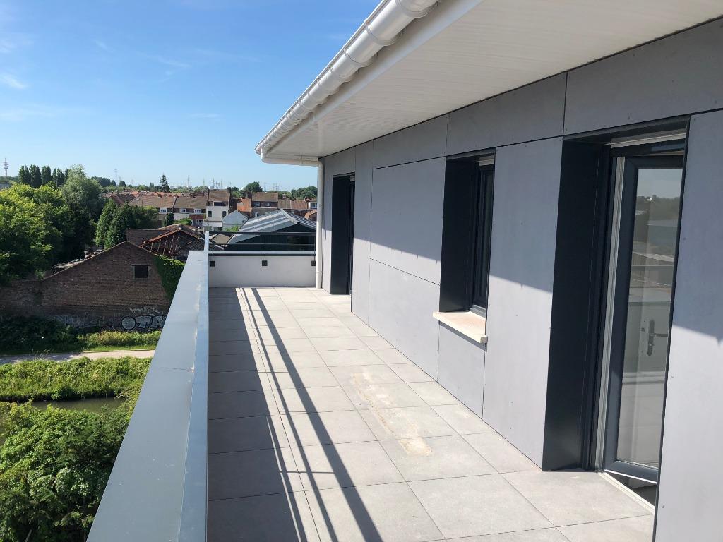 Vente appartement 59290 Wasquehal - Dernier étage en résidence récente - WASQUEHAL centre