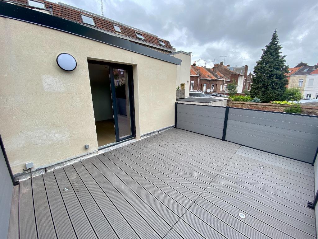 La Madeleine Saint Maur T4 duplex, terrasse, garage