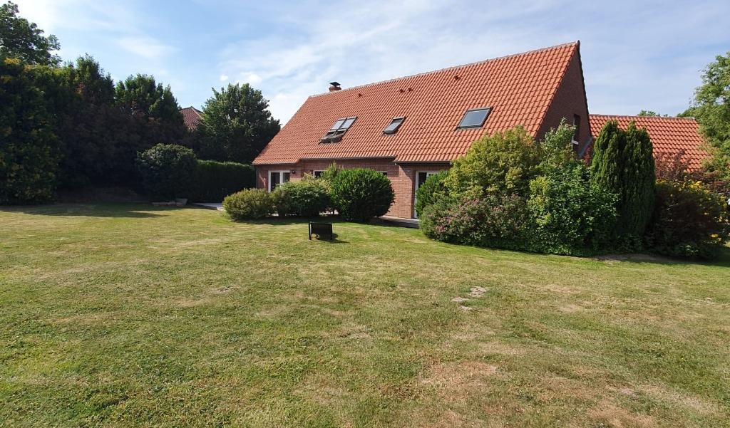 Vente maison 59320 Radinghem en weppes - Individuelle récente, vaste terrain, 4 chambres possible 5.