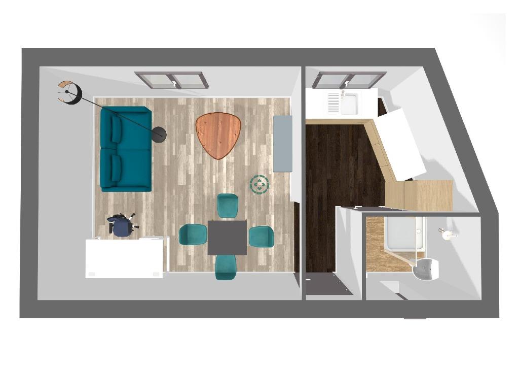 Vente appartement 59000 Lille - Opportunité Immobilière 2 appartements 30m2
