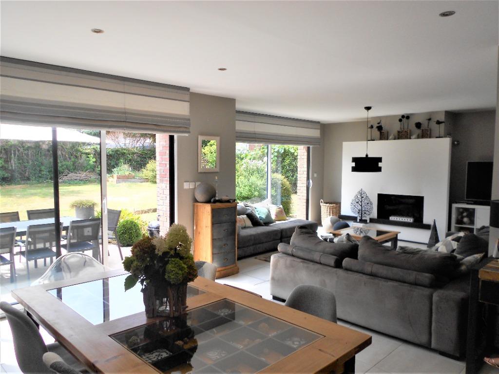 Vente maison 59249 Aubers - Construction récente, 180 m² Habitables, suites parentales.