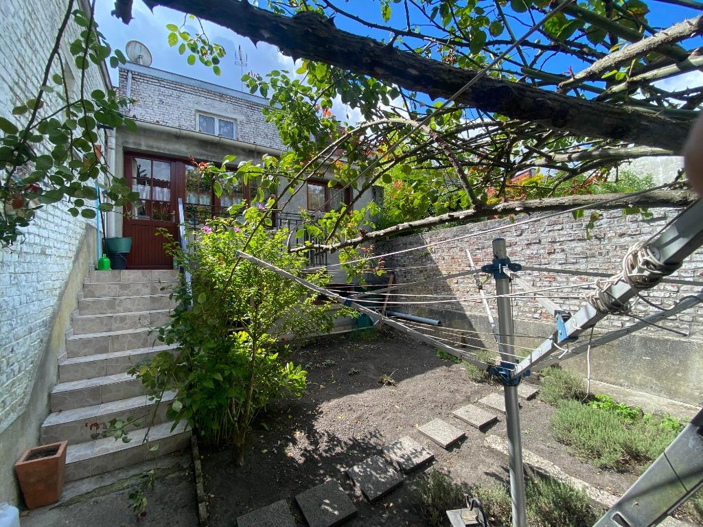 EXCLUSIVITE-WAVRIN - maison 3 chambres ,beau séjour- JARDIN