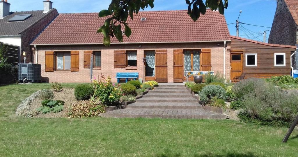 Vente maison 62740 Fouquieres les lens - maison de plain pied 90m2 3 chambres