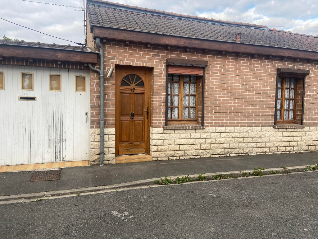 Vente maison 59136 Wavrin - EXCLUSIVITE WAVRIN- Plain-pied -3 chambres  - jardin - garag