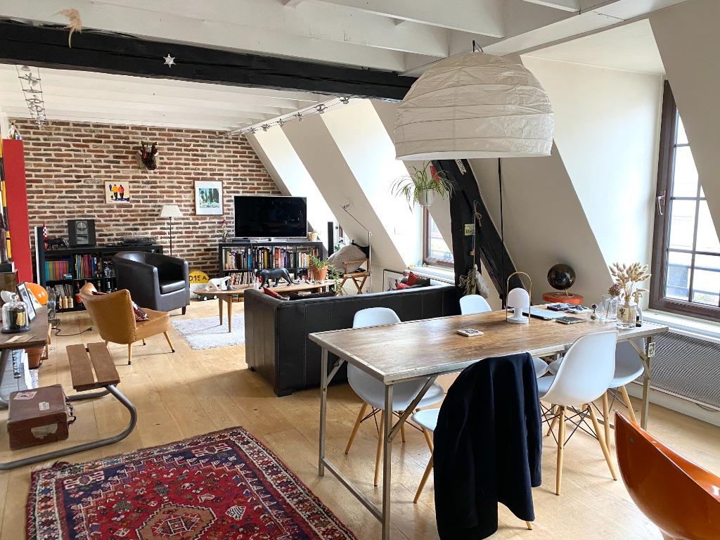 Vente appartement 59000 Lille - T3 dernier étage - Treille