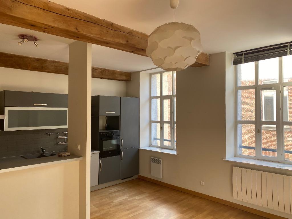 Vente appartement - Vieux Lille, Halle aux sucres / Charmant type 2 51,50m²