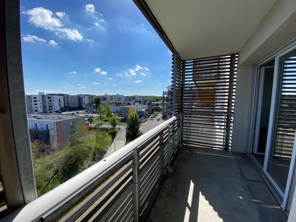 Vente appartement 59350 St andre lez lille - T3 vue sur Deule terrasse et parking 63m2