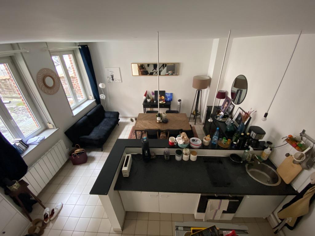 Vente appartement 59000 Lille - Duplex République/Saint Michel 49m²