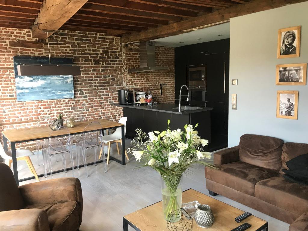 Location appartement 59000 Lille - Superbe T3 plein de charme Vieux Lille