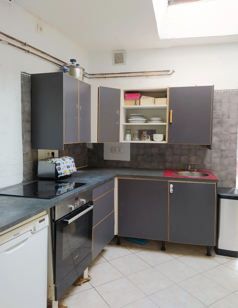 Vente maison 59100 Roubaix - maison 75 m² proche tram et métro 2 chambres possibilité 3
