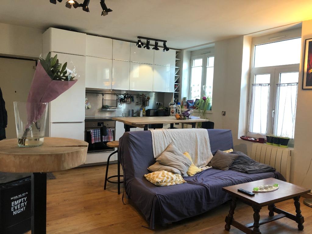 Vente appartement 59000 Lille - En Exclusivité ! T2 de 42m² Place Philippe de Girard.